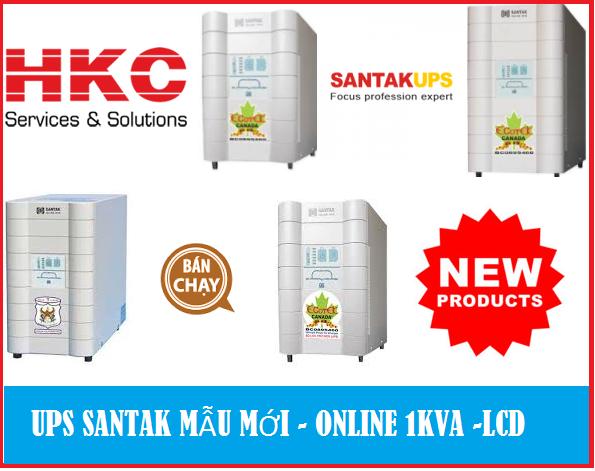 UPS SANTAK 1KVA LCD