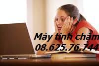 khac phuc may tinh bi cham