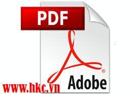CHUYỂN ĐỔI SANG FILE PDF