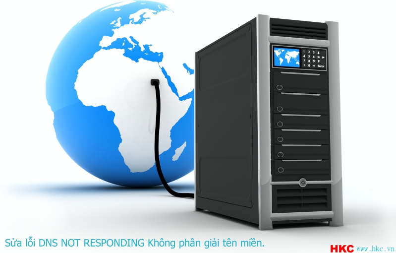 SUA LOI DNS SERVER NOT RESPONDING